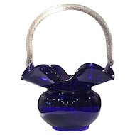 Morgantown #4357 Ritz Blue (Cobalt) Trindle Basket