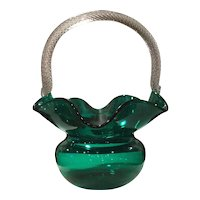 Morgantown #4357 Stiegel Green Trindle Basket