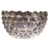 "Fostoria Crystal American Pattern #2056 - 8.5"" Bowl"