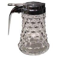Fostoria Crystal American Drip-Cut Syrup