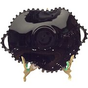 "Imperial Black Candlewick 8-1/2"" #400/62EC Handled Bowl"