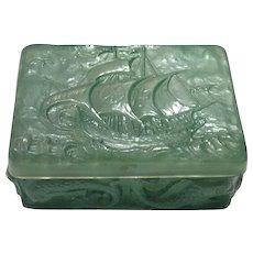 Consolidated Green Wash Santa Maria Covered Cigarette Box