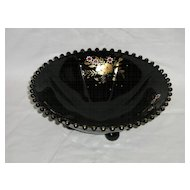 Imperial Black Candlewick Bowl Pattern No. 400/74B