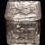 "Fostoria Crystal American Pattern #2056 - 2"" Square Pomade Box & Lid"