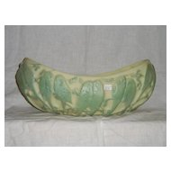 Consolidated Love Birds Banana Boat Centerpiece Bowl