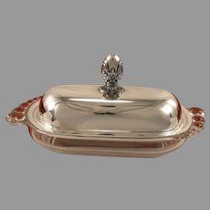 FIRST LOVE Butter Dish 1937 Vintage Silverplate Silver Plate International Silver 1847 Rogers Bros.