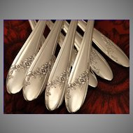 Oneida Tudor Plate QUEEN BESS II Vintage 1946 Silver Plate Flatware Silverware Set You Choose Dinner Service for 4, 8, 12 or 16