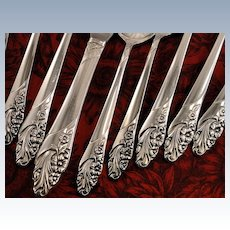 Oneida Community EVENING STAR Vintage 1950 Silver Plate Flatware Silverware Set Dinner Service for 4, 8, 12 or 16