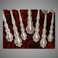 Oneida Community BEETHOVEN Silverware Set Vintage 1971 Silver Plate Flatware Dinner Service for 4, 8, 12, 16, 20 or 24