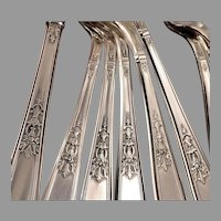 AMBASSADOR Silverware Set Dinner Service for 4 (Qty Avail) International 1847 Rogers Bros Vintage 1919 Silver Plate Silverplate Flatware
