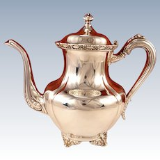Antique Victorian Silver Plate Teapot by Middletown Plate Co.