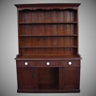 Antique Furniture Victorian Pine Dresser
