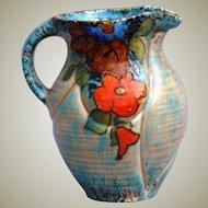 Crown Devon Feildings Art Deco Pottery Pitcher