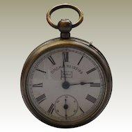 Pocket Watch Vesta Strike Case E.P.N.S. Bavaria 'Moko'