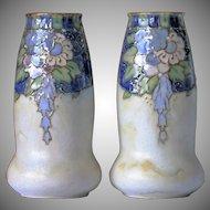 Royal Doulton Stoneware Vases British Arts and Crafts 1922 – 1936 Floral Tube Line.