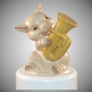 Goebel West Germany Pig Musician Tuba Player 1979