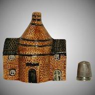 Model Pottery 18thC Brick Built Round Kiln Slate Roof Listed Building UK National Heritage