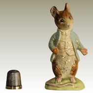 Beatrix Potter Beswick England Johnny Town Mouse F. Warne