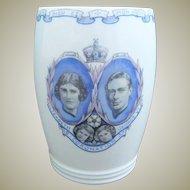 Pottery Wedgwood Royal Commemorative Art Deco Coronation 1937 King George V1 Beaker