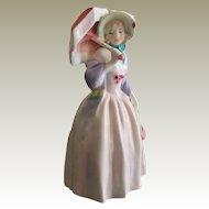 Royal Doulton Porcelain Figurine - Miss Demure HN 1402 Vintage
