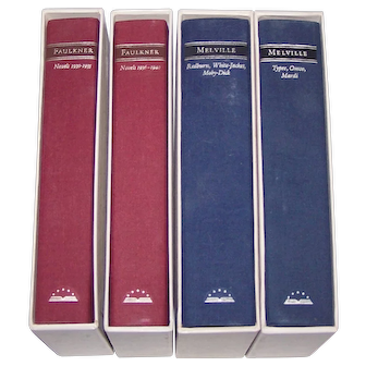 18 Volumes, Library of America Series, c.1980-1985 ($10/ea.)