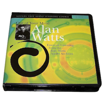 "Alan Watts, ""Out of Your Mind"" 12-CD Set, ""Essential Listening from the Alan Watts Archives,"" c.2004"