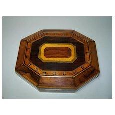 Georgian Octagonal Table Box, c.1810