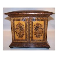Tunbridge Ware Cabinet, Ash, c.1860
