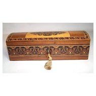 Tunbridge Ware Glove Box, c.1850
