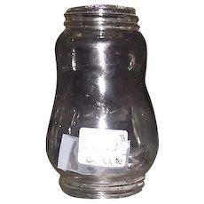 Original Skaters  Lantern Globe with Threaded top & Bottom Glass !