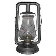 "Near Mint ""PAULL'S LEADER No 0"" Lantern with Original marked Globe ! Circa 1940's."