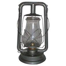 "Near Mint ""PAULL'S LEADER No 0"" Lantern with Original marked Globe ! Circa 1940's."