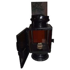 "Restored ""IDEAL * Rochester Optic Company"" Early Photography Darkroom Lantern Circa 1880's !!!"