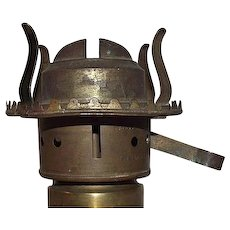 """Super Rare """"Pabst Lever Burner"""" #2 Size * Patent Dated  1891 !!!"""