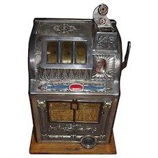 "Mills ""Liberty Bell"" Five Cent Slot Machine !!! Circa 1923-1924."
