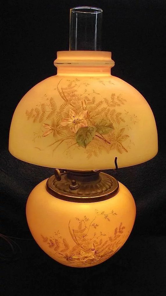 Small Gwtw Electrified Lamp Matching Shade With 3 Way