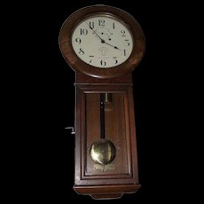 "Rare ""Maryland & Pennsylvania Railroad"" Seth Thomas #2 Regulator Clock in Museum Quality Golden Oak Case !!!"