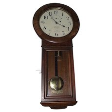 "Rare ""Maryland & Pennsylvania Railroad"" Seth Thomas #2 Regulator Clock in Museum Quality Golden Oak Case !!!"