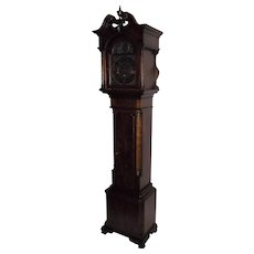Circa 1940 Bench Made Dwarf Cased Clock with imported Mason & Sullivan German Westminster Chime Rods Movement !!!