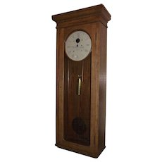 """Pennsylvania Railroad"" Weight Driven ""E. Howard Model No. 89"" Clock in Original Solid Oak Regulator Case !!!"