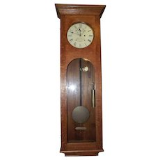 """Historic E. Howard Bank Clock from the """"Central National Bank"""" in Greencastle,Indiana, where John Dillinger's Gang committed their Largest Bank Robbery !!!"""