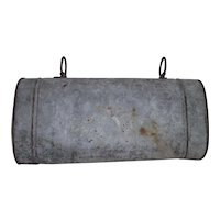 """Saddle Ring Metal """"Document Carrier"""" from Jack Palance Collection ! Circa 1880's to 1900."""