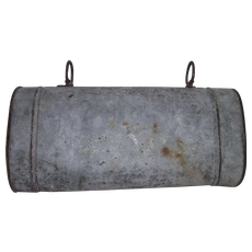 "Saddle Ring Metal ""Document Carrier"" from Jack Palance Collection ! Circa 1900's."