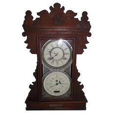 """RARE """"Display Model for the Feichtinger Patented Line of Calendar Clocks"""" which were made from 1895 to 1905 !!!"""