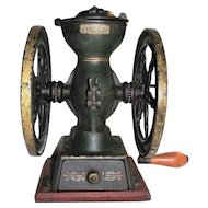 "Original Factory Painted ""Landers, Frary & Clark * New Britain,Conn. USA."" Coffee Mill Universal No. 20 !!!"