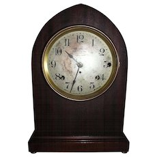 """Seth Thomas Musical """"Sonora Chime"""" Clock with 5 Bells in a Mahogany Case !!!"""