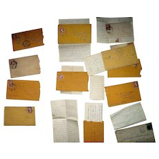 "Group of Civil War Letters from ""A. Thomas  Buchanan""  of the 122nd Regiment Pennsylvania Volunteers !"