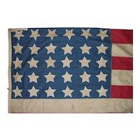 """US. 30 Star Civil War Period """"Union Loyalist"""" Flag !!!"""