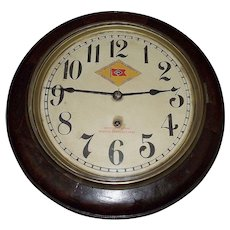 """The """"Delaware * Lackawanna Railroad Company Inc."""" Gallery Clock !!!"""