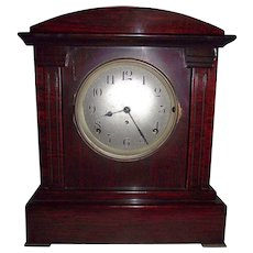 """Sonora"" Model 4 Bell Westminster Musical Chime Mantle Clock with Seth Thomas  Patented ""Adamantine"" Rosewood Finish on Case !!!"